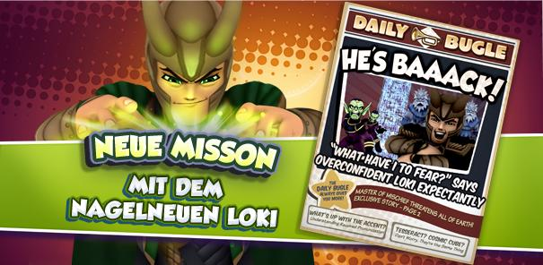 Neue Mission in Super Hero Squad Online