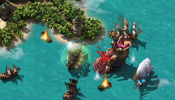 Piraten-Browsergames Pirate Storm