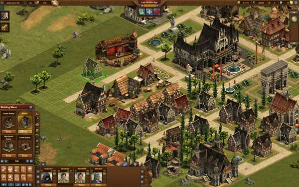 Stadtansicht Forge of Empires