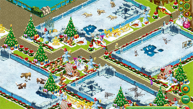 My Free Zoo: Winterlandschaft