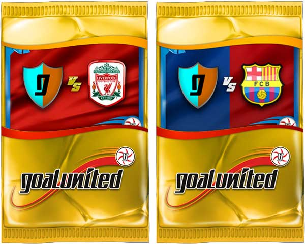 Liverpool & Barcelone bei goalunited 2013