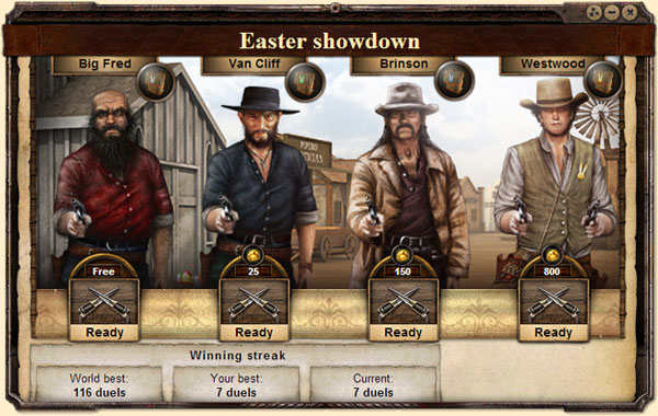 The West Oster-Showdown
